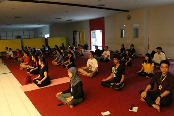 Workshop Yoga - meditation