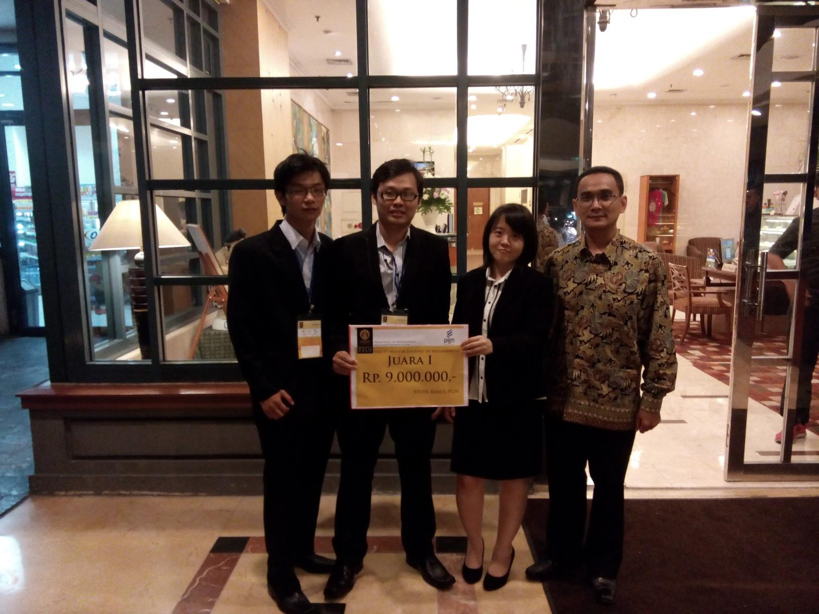 Best of The Best di Master Journey in Management 2015