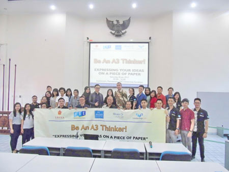 """""""Expressing Your Ideas on a Piece of Paper"""": Be an A3 Thinker! Seminar & Workshop"""