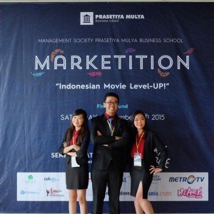 Ubaya Master of Management and Master of Accounting Students is the Runner-up of Marketition 2015