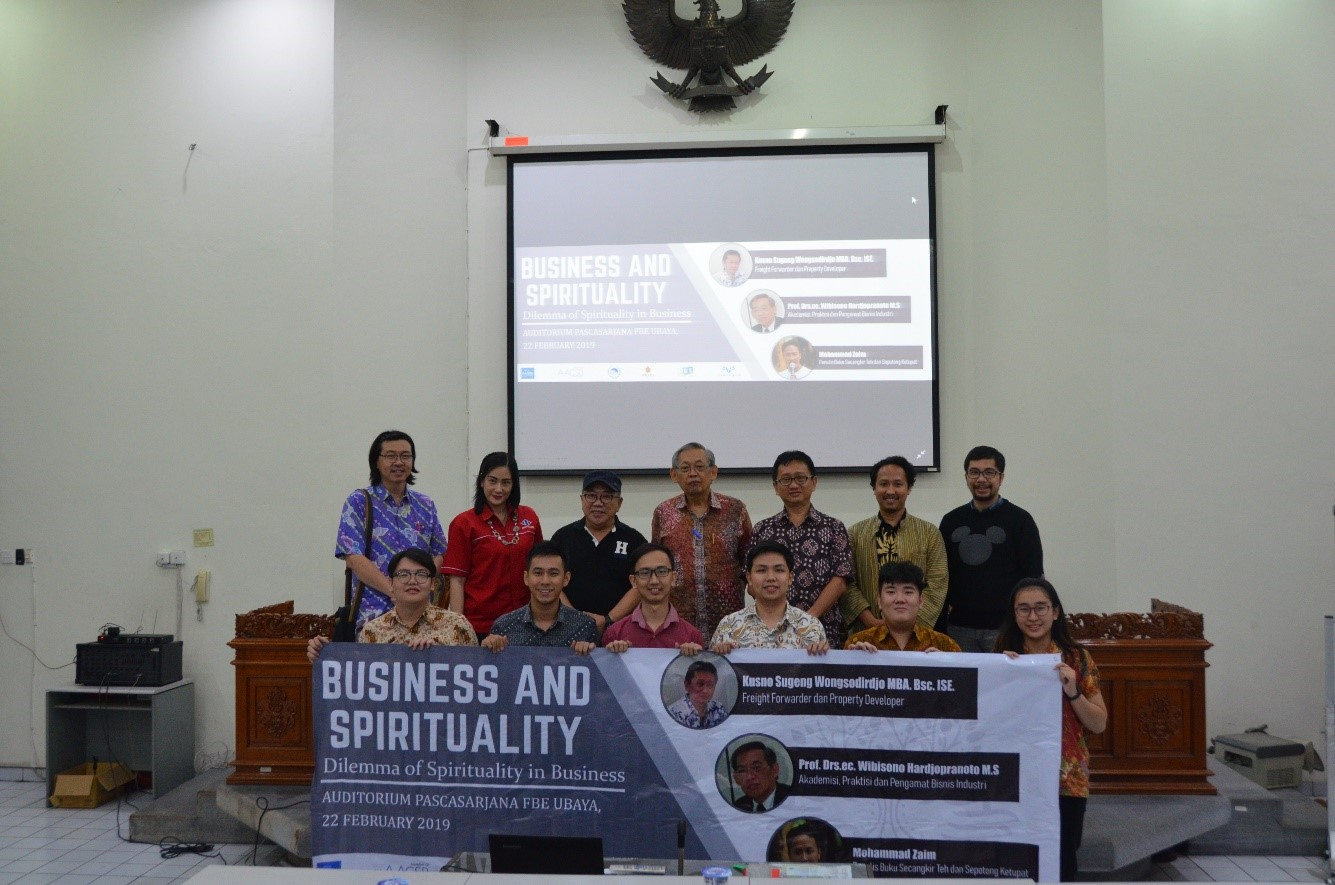 """Business and Spirituality Seminar """"Can Business and Spirituality be united?"""""""
