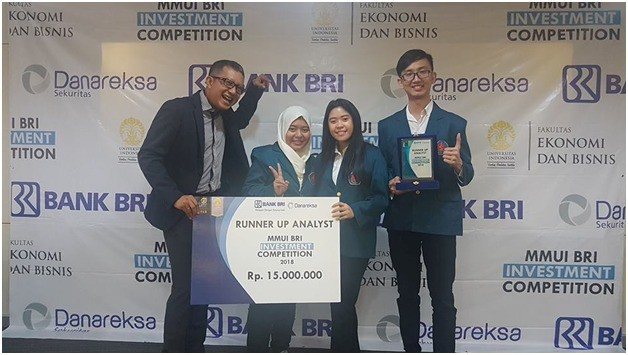 The 2nd Place in Investment Competition 2018 was held by MM UI